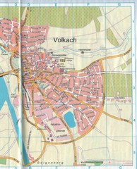Volkach Map