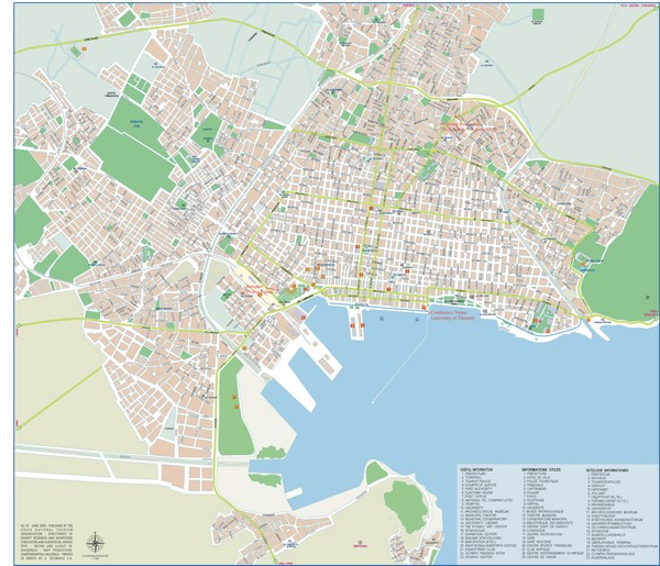 Volos Tourist Map   Volos Greece • mappery