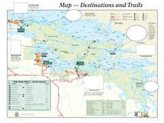 Voyageurs National Park Official Park Map
