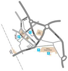 Wakefield Center Street Map