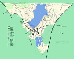 Walden Pond State Reservation trail map
