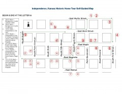 Walking tour of Historic Independence Map