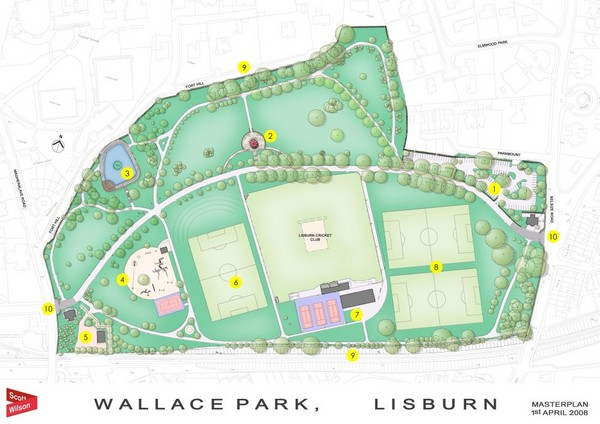 Wallace Park Map