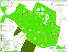 Walnut Creek Metro Park Trails Map