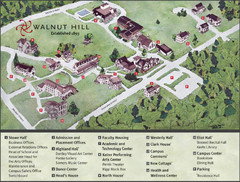 Walnut Hill School Map
