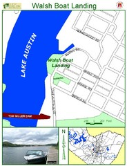 Walsh Boat Landing Map