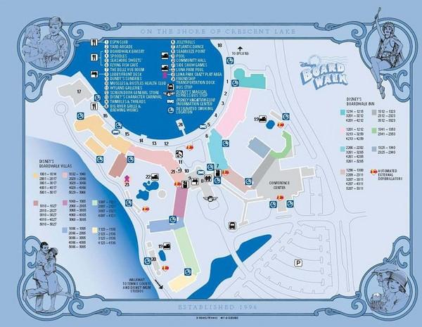 on disney world epcot map