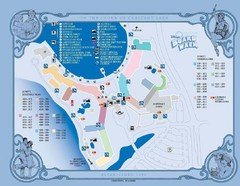 Walt Disney World and Epcot Boardwalk Map