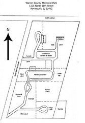 Warren County Memorial Park Map