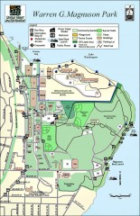 Warren G. Magnuson Park Map