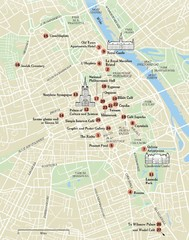 Warsaw Tourist Map