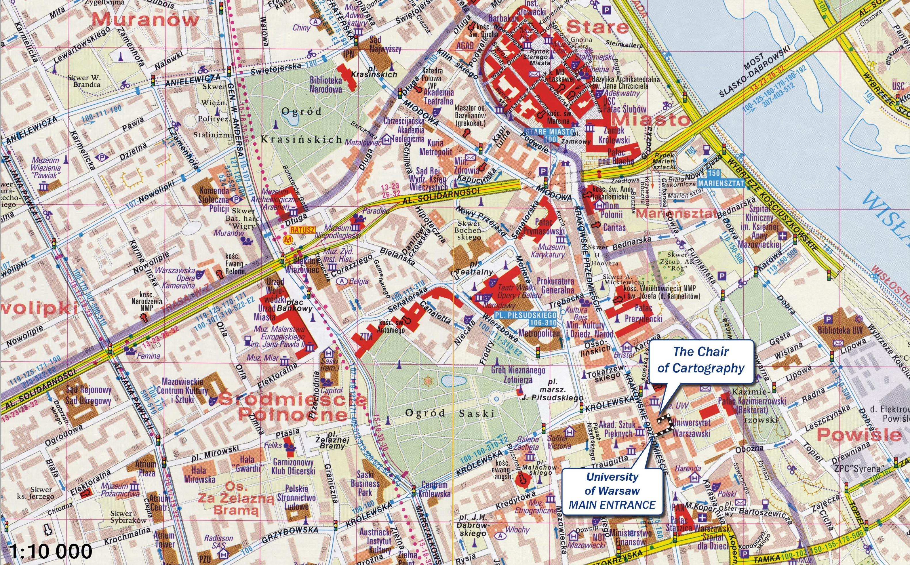 карта варшавы с улицами и районами ещё ласковые слова
