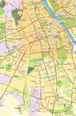 Warsaw University Map