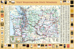 Washington State Winery Map