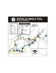 Waterloo State Recreation Area Bridle Trails Map
