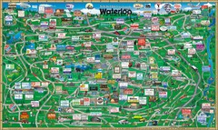 Waterloo Tourist Map