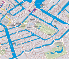 Waterlooplein, Plantage and Oosterpark Tourist Map