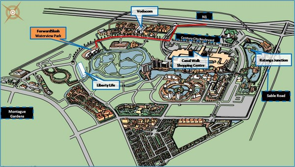 Waterview Park Map