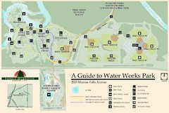 Waterworks Park Map