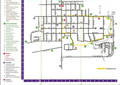 Watford City Map