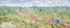 Waynesville and Lake Junaluska Panoramic Map