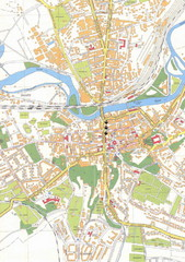 Weissenfels City Map
