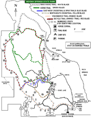 Wekiwa Springs State Park Trail Map