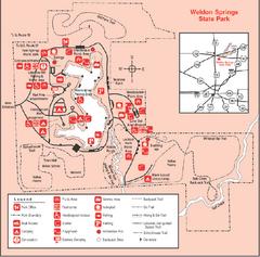 park  illinois site map