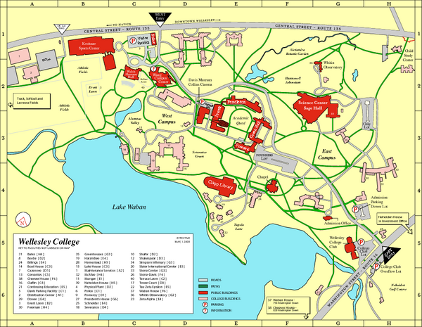 calvin college map