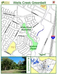 Wells Creek Greenbelt Map