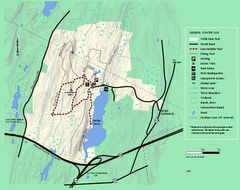 Wells State Park winter trail map