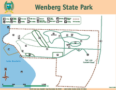 Wenberg State Park Map