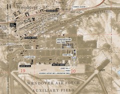 Wendover Air Base Map