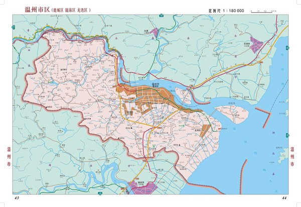 Wenzhou Detail Area Map