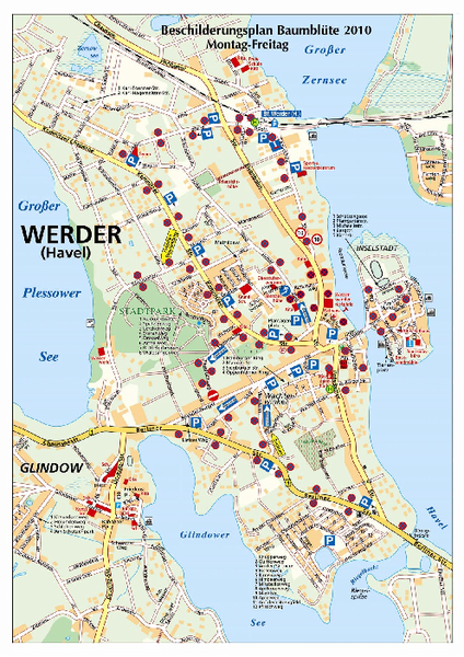 Werder (Havel) Tourist Map