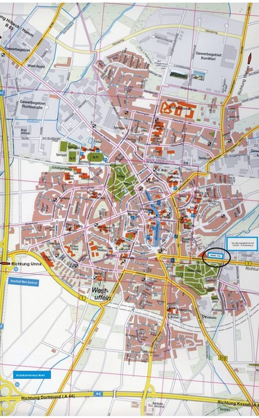 Werl City Map