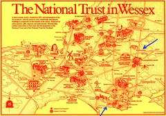 Wessex Scotland Historical Places Map