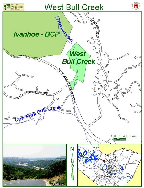 West Bull Creek Greenbelt Map