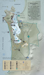 West Coast National Park Map