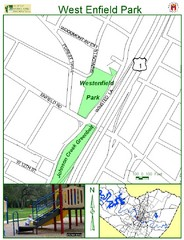 West Enfield Park Map
