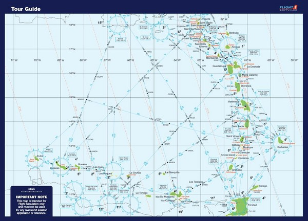 West Indies Guide Map - West Indies islands • mappery