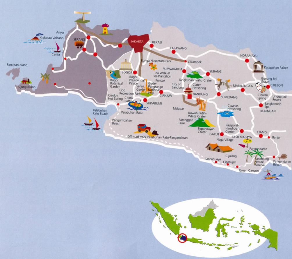 Tourism g Java Vacations.