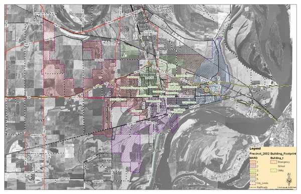 West Memphis City Map