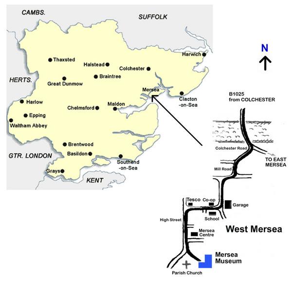 West Mersea Island Museum Map Mersea Island mappery