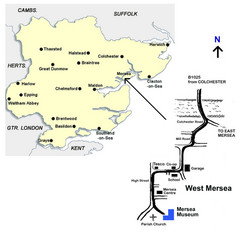 West Mersea Island Museum Map