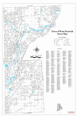 West Warwick Town Map