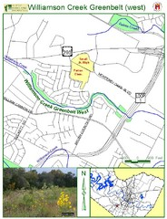 West Williamson Creek Greenbelt Map