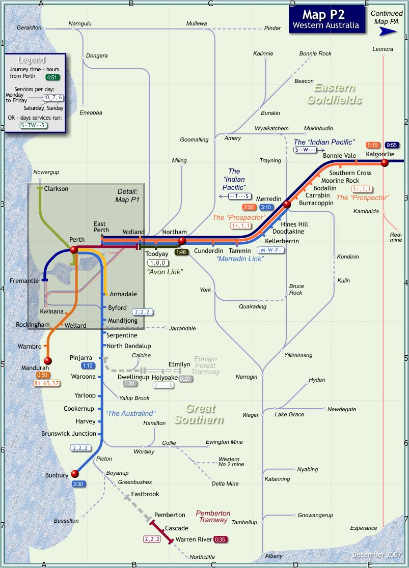 perth rail map australia sydney-#15