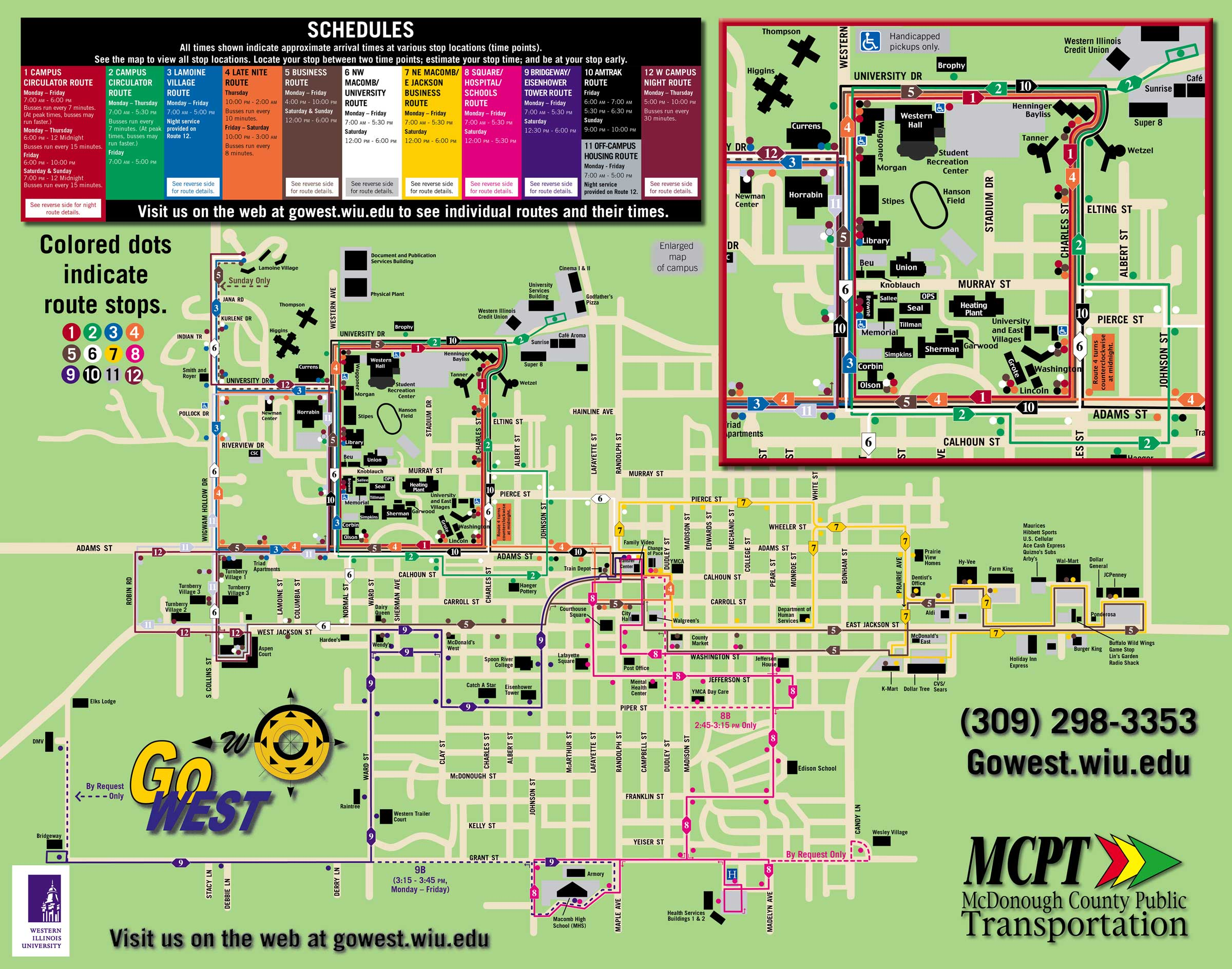 U Of Illinois Campus Map Pictures To Pin On Pinterest