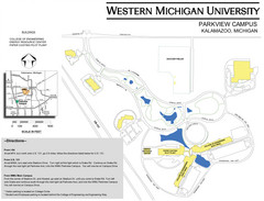 Western Michigan University Campus Map